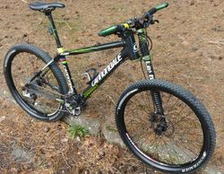 Cannondale Flash karbon lefty