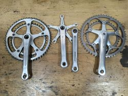 Campagnolo, Dura Ace, Walter, Stronglight