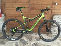 "18 Cannondale SCALPEL Si 29"" CARBON 4, SRAM EAGLE GX + teleskop Rock Shox+ kola MAVIC Crossmax Elite"