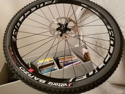 "Fulcrum 29"" Red Zone 700 Boost + Vittoria Barzo, Mezcal 2,25"" tubeless"
