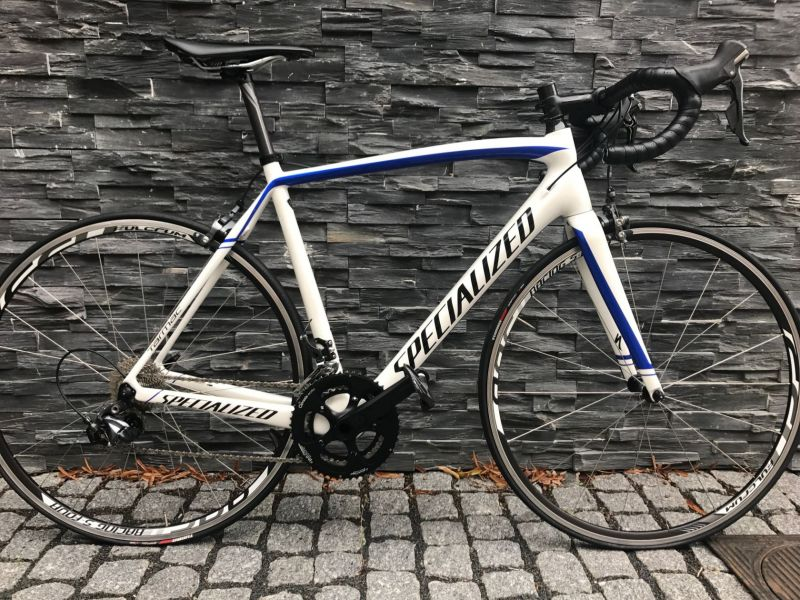 SPECIALIZED TARMAC COMP SL4 - 56, white/blue TOP! vel. 56