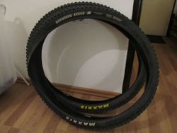 Pláště Maxxis Minion DHR II 2.3 Exo TR + High Roller II 2.4 Silk Shield 27,5""