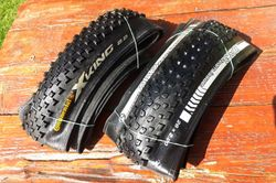 Continental X-king + Bontrager X3R Team Issue