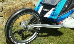 Thule Chariot CTS CX1 blue disc