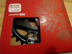 SRAM X-SYNC 2 EAGLE Cold forged Aluminium 32T a 30T