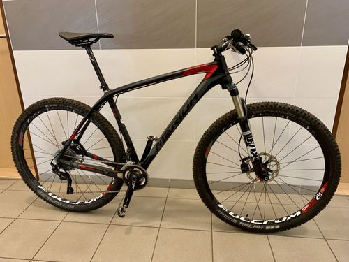 Merida BIG.NINE 7000, karbon, Shimano XT, 2015, 21""