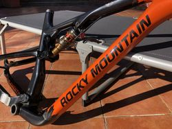 Rámovy Set Rocky Mountain Element Carbon Orange/black