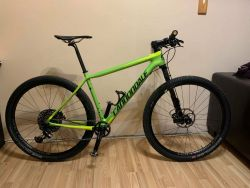 Cannondale F-Si Carbon 2, Eagle X01, karbonová kola HollowGram 23,