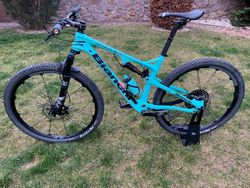 "Prodám BIANCHI Methanol FS 29"" full carbon Vel. L - Cross country / Marathon"