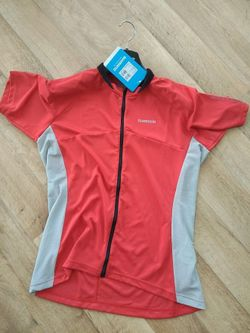 dres Jersey Shimano Loose Fit Full Zip Red And Grey - vel. L