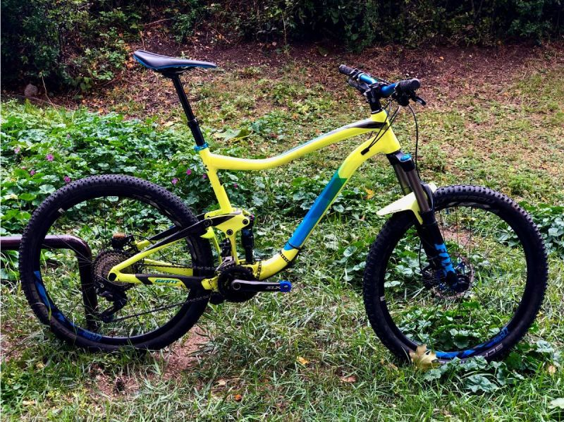 Giant Trance 2 LTD 2017 trail bike