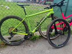 Cannondale F-Si Carbon 2, Eagle X01, karbonová kola HollowGram 23