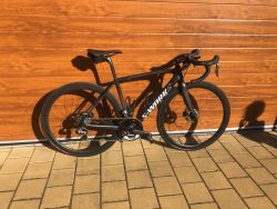 Prodám Specialized S-works Tarmac Disc vel.52