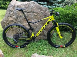 SCOTT SPARK RC 900 WORLD CUP AXS 2020 BLACK/YELLOW