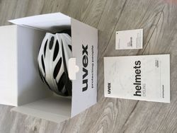 Helma UVEX BOSS RACE WHITE-BLACK