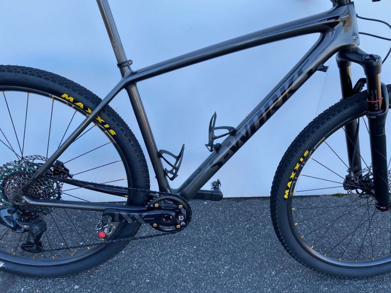 Rám Specialized Epic HT S-works Gloss Charcoal Tint Carbon/Black 2018 vel L