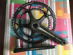 Kliky Campagnolo Record Carbon 10s, 53x39, 172.5mm