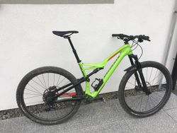 Prodám Specialized Camber Comp Carbon 29 Large Green/Red 2017